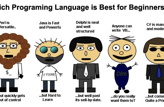 Which is the Best Programming Language to Learn First ...
