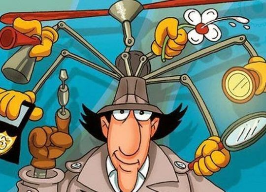 be a hacker like inspector gadget