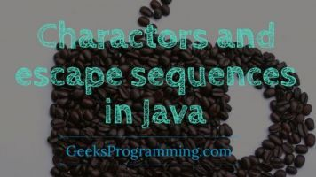 Charactors-and-escape-sequences-in-java-cover