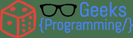 GeeksProgramming