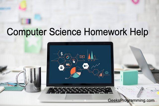 Computer Science Homework Help